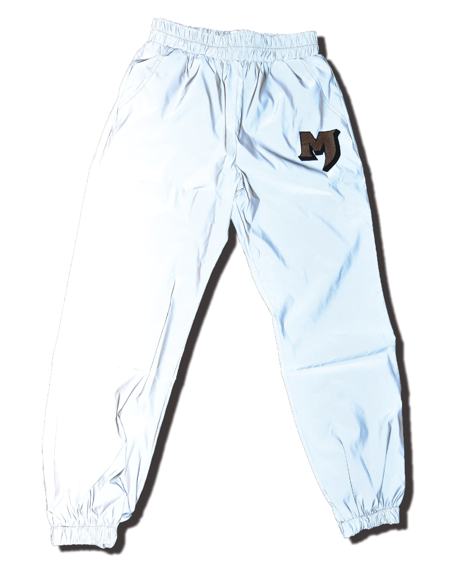 MARE MARE GREY REFLECTIVE PANTS - WOMEN'S streetwear
