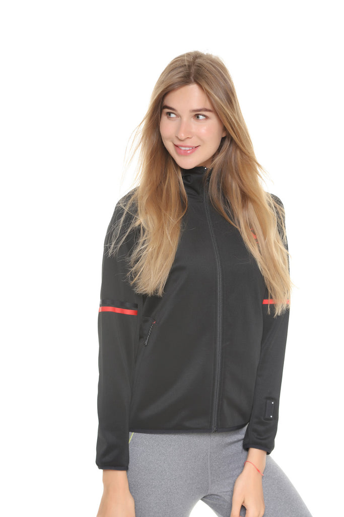 Heated Full-Zip Hoodie Black | Women