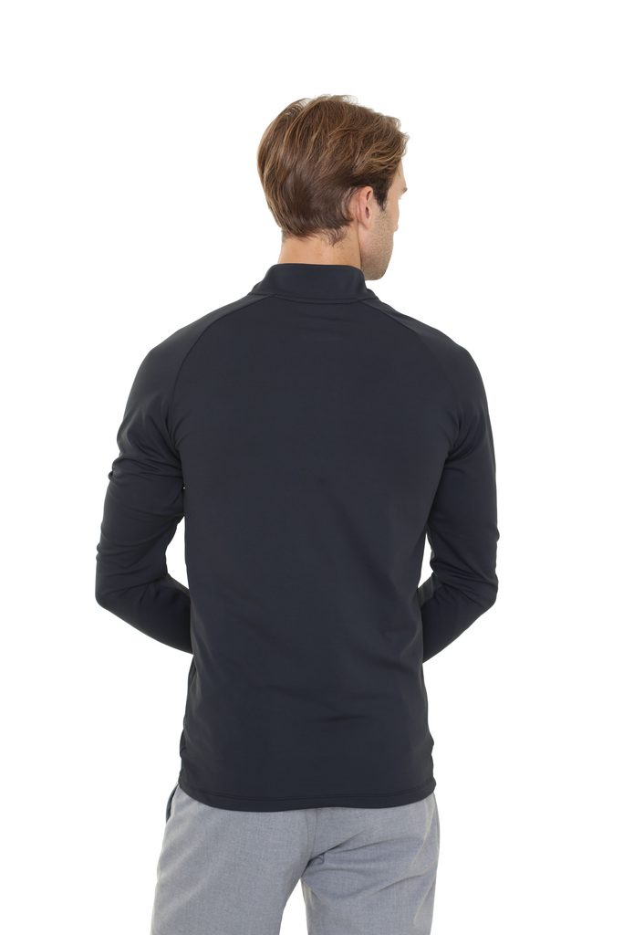 Heated Zip Top | Men | Jet Black