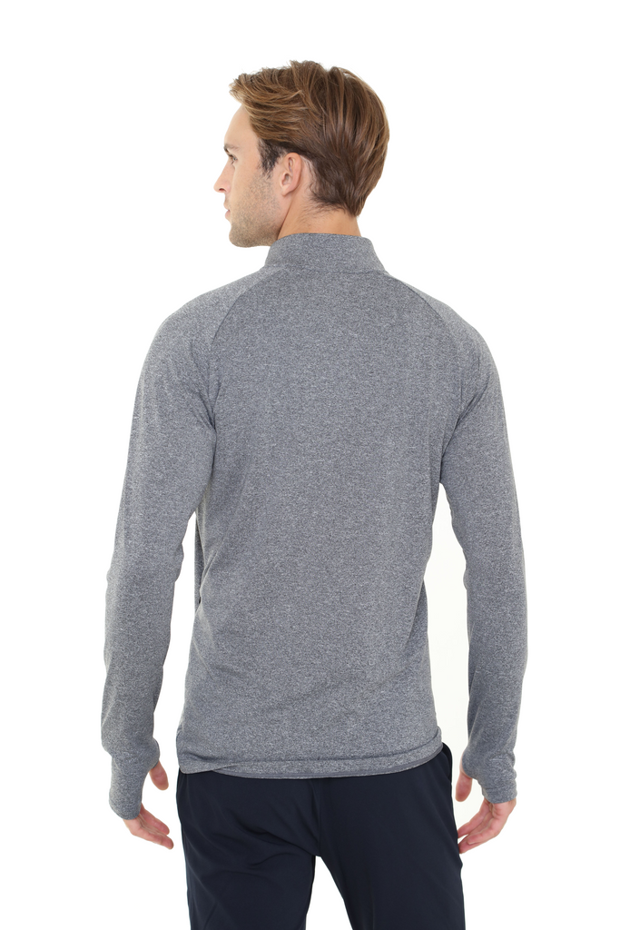 Heated Zip Top | Men | Heather Gray