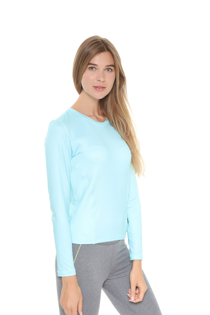 Heated Top Light Blue | Women