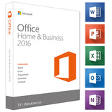 Microsoft Office - Home and Business 2016 til Windows - NemSoftware