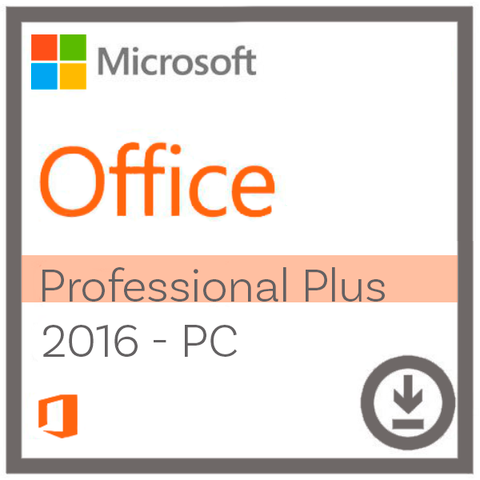 Microsoft Office Professional Plus 2016 til Windows