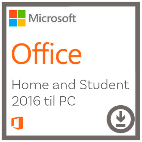 Microsoft Office Home And Student 2016 til Windows