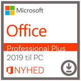 Microsoft Office Professional Plus 2019 til Windows