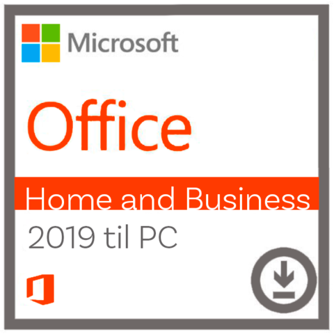 Microsoft Office - Home and Business 2019 til Windows