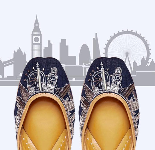 NEW [Valentine's Day Collection] Londoner Sky juttis