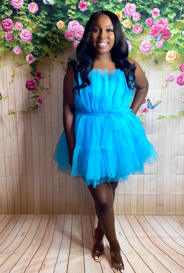 "The ""Doll Up"" Tulle Tube Dress"