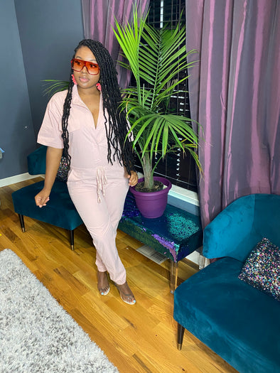 The Pretty In Pink Jumpsuit