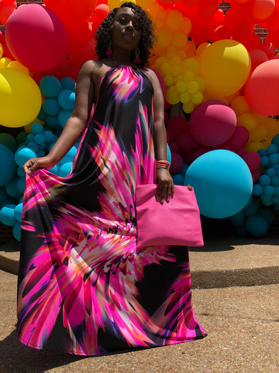 The Pink Panther Maxi Dress