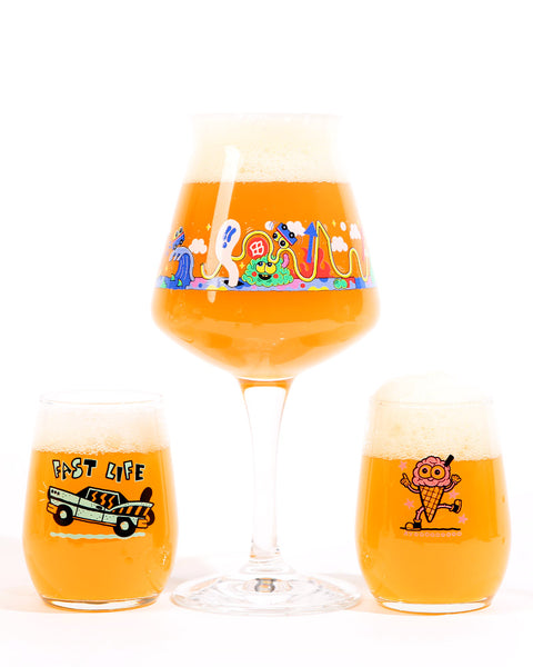 Juicy Brews WestFest Glassware (SET)