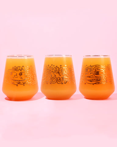 "Killer Acid ""Chill Out"" Tumbler (GOLD LEAF)"