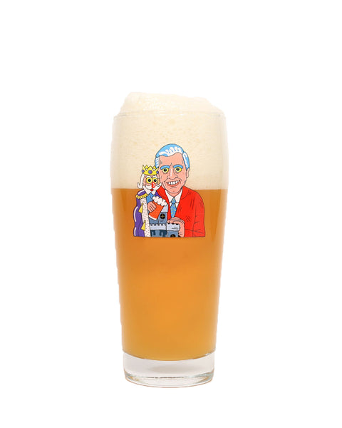 Mr. Rogers Pint Glass
