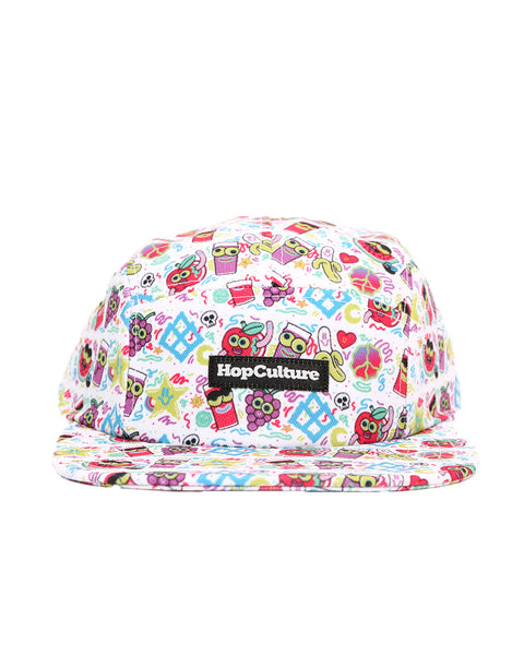 Grapes & Apples Sublimated Hat