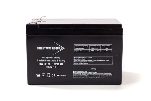 Sonnenschein A512/10S- REPLACEMENT - BW12120 F1 - 12V 12AH SLA Battery