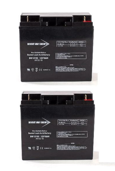 APC BACK UPS 1400 (BP1400) - Pack is for one Back ups Pro,  (2) 12V 18AH Batteries