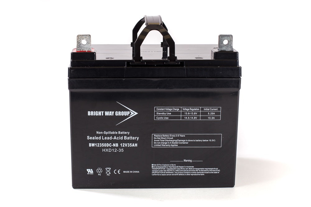 Power PRC1235X - REPLACEMENT BW12350 -12V 35AH SLA Battery