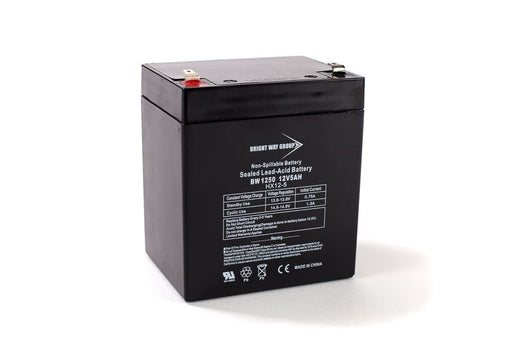 ABCE420-11 - pack is for one ups, (2) 12V 5AH/ F2 SLA Batteries