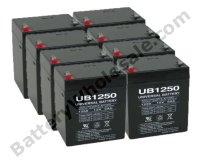 APC SMART UPS 3000 - SMART UPS 3000 Pack is for one ups, (8) 12v 5AhF2 Batteries