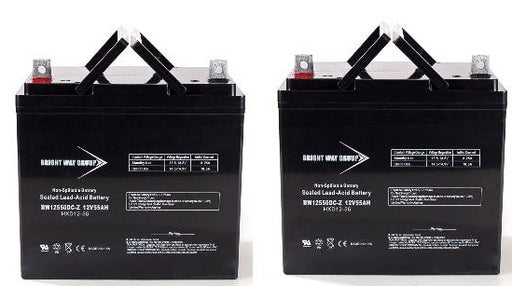 Pride Mobility Jazzy - Pack is for (2) 12V 55AH NB Batteries