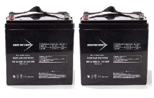 21st Century Bounder/Big Bounder - Pack is for (2) 12V 75AH Batteries
