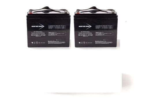 Rascal Sparkey - Pack is for (2) 12V 75AH Batteries