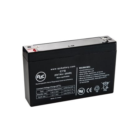 CSB GH670 - 6V 7AH SLA Battery