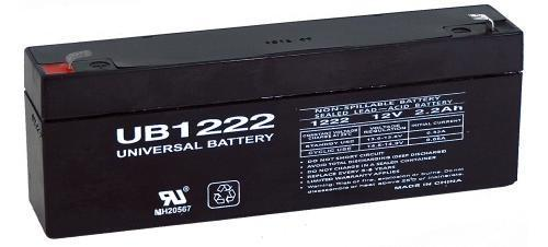 CSB EVX-1222 - 12 Volt 2.2 Amp hour SLA Battery