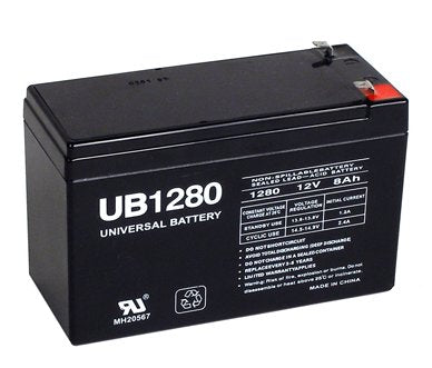 parasystems minuteman mbk 520i pack is for one ups 1 12v 8ah battery