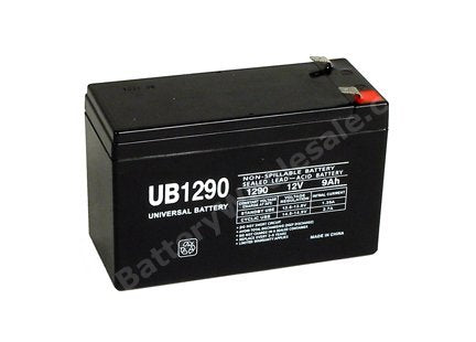 exide pw3110 600 pack is for one ups 1 12v 9ah f2 sla battery