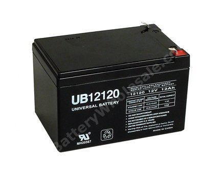 parasystems minuteman px 10 0 60 pack is for one ups 1 12v 12ah battery