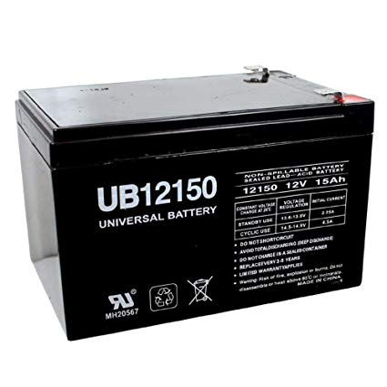 Bright Way Group BW12150 - 12V 15AH SLA Battery