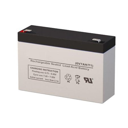 Long WP7-6 - 6V 7AH SLA Battery