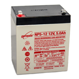 CSB HR1221WF2 - 12 Volt 5 Amp hour SLA Battery