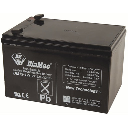 Douglas DG12-12 - 12 Volt 12 Amp hour SLA Battery
