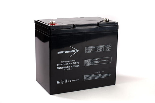 Dynasty GC12550 - 12 Volt 55 Amp hour SLA Battery