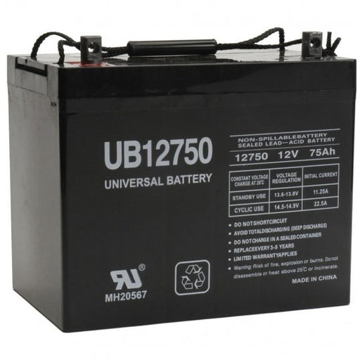 Dynasty GC12V75 - 12 Volt 75 Amp hour SLA Battery