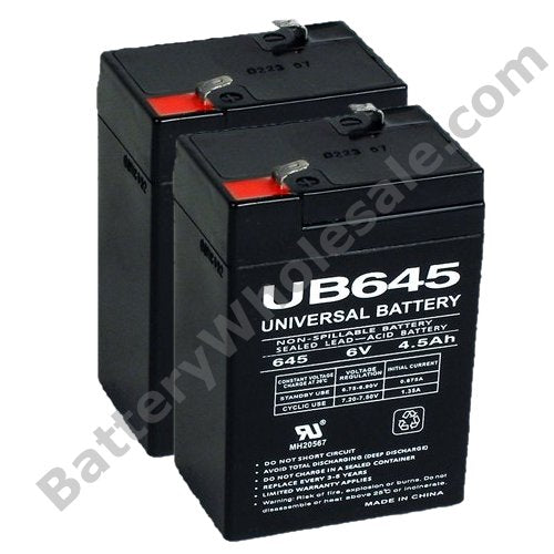 apc bu pro 500u pack is for one ups 2 6v 4 5ah batteries