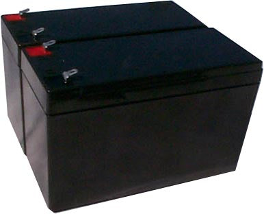 tripp lite datashield pc200 pack is for one ups 2 12v 8ah batteries