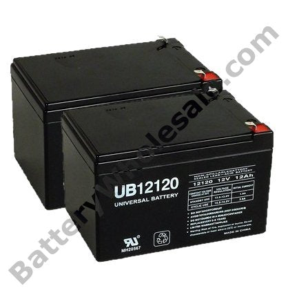 deltec rc1000 pack is for one ups 2 12v 12ah batteries