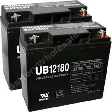 deltec pra1000 pack is for one ups 2 12v 18ah batteries