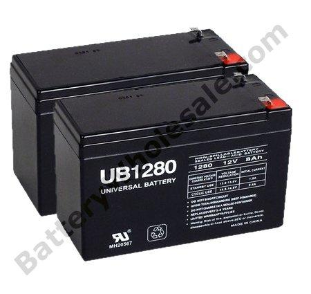 currie lite 250 pack is 2 12v 9ah f2 sla batteries