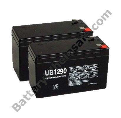 apc back ups 1500xs pack is for one ups 2 12v 9ah f2 sla batteries