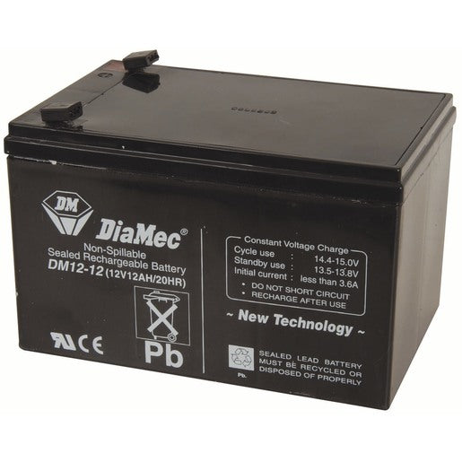 Elpower EP12120 - 12 Volt 12 Amp hour SLA Battery