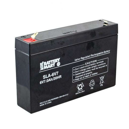 TOP 06070 TOP - 6V 7AH SLA Battery
