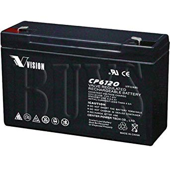 TOP 06120 TOP - 6V 12AH SLA Battery