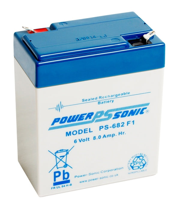 Elpower EP680 - 6V 8AH SLA Battery