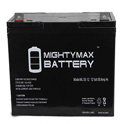 BestPower BA-7 - 12V 55AH SLA Battery