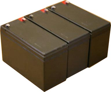 parasystems minuteman mcp 1000irm e pack is for one ups 3 12v 8ah batteries