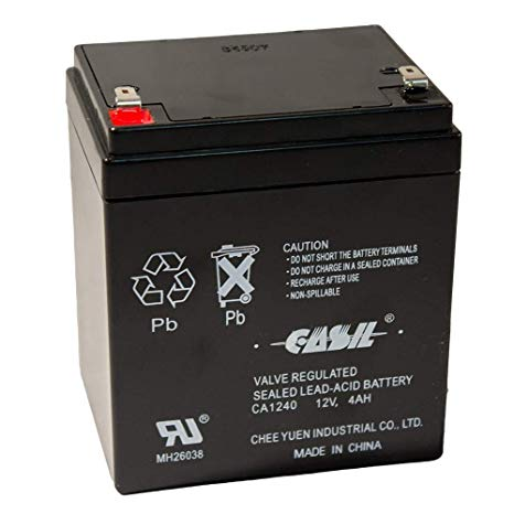 Bright Way Group BW 1240 - 12V 4AH SLA Battery